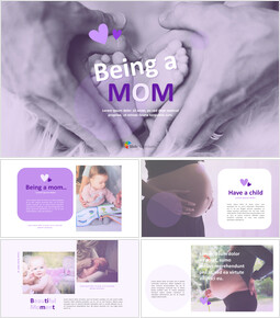 Being a Mom PowerPoint Business Templates_00