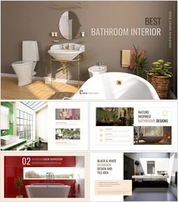 최고의 욕실 인테리어 구글슬라이드 템플릿 디자인_00