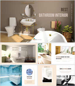Best Bathroom Interior Templates Design_40 slides