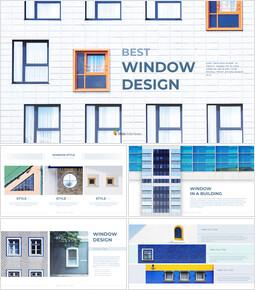 최고의 창 디자인 파워포인트 Google 슬라이드_00