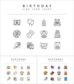 Birthday Icon Resources for Designers_00