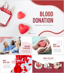 Blood Donation Business Presentation Templates_40 slides