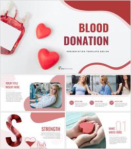 Blood Donation Google Slides for mac_00