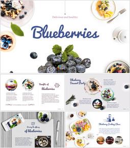 Blueberries Google PowerPoint Presentation_00