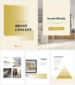브랜드 컨셉 세로형 디자인 베스트 파워포인트 템플릿_00