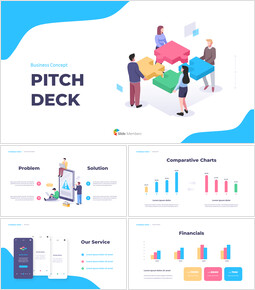 Business Concept Pitch Deck Modern PPT Templates_00