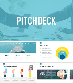 Business Pitch Deck Animated Slides in PowerPoint_13 slides