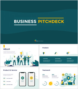 Diapositivas animadas Business Pitch Deck en PowerPoint_00