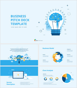 Business Pitch Deck Animation Template PPT Background_00