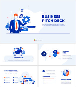 Business Pitch Deck Design PPT PowerPoint Templates Design_00