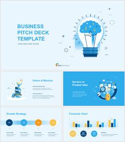Plantilla de presentación de negocios Presentaciones de Google para mac_00