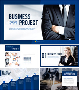 Business Project PowerPoint Design Download_00