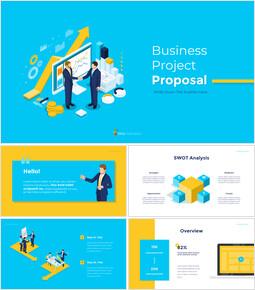 ビジネスプロジェクト提案のシンプルなアニメーションテンプレート_00
