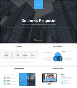 Business Proposal Pitch Deck Presentation Animation Templates_00