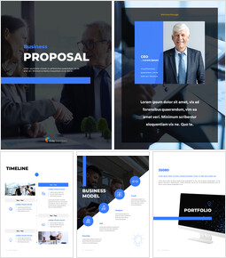 Business Proposal Vertical Modern PPT Templates_00