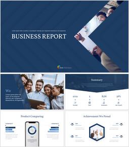 Business Report Animated Slides Presentation Design_00