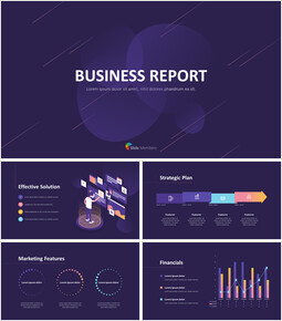 Business Report Design Marketing Animated Presentation PPT_00