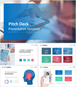Business Social Network Pitch Deck Animated Slides_00