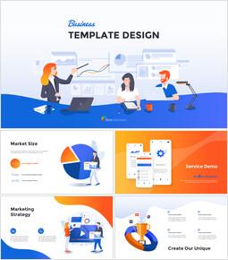 Business Template Design Google Slides_13 slides
