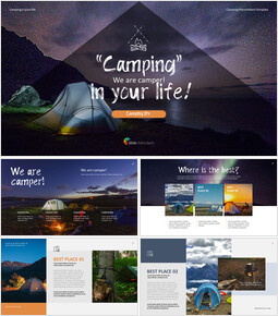 Camping PowerPoint Presentation Templates_00