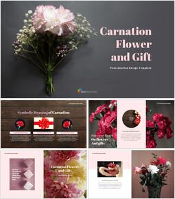 카네이션 꽃과 선물 베스트 구글슬라이드_00