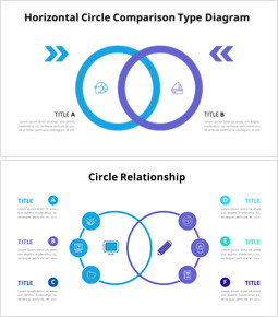 Circles Relationship Diagram_10 slides
