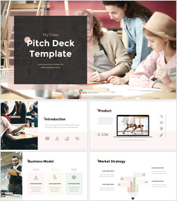 Class Pitch Deck PowerPoint Presentation Animated Slides_00
