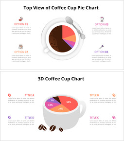 Coffee Cup Chart Diagram_8 slides