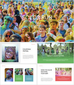 COLOR RUN Keynote PowerPoint_00