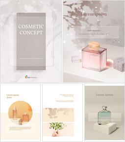 Cosmetic Brand Concept Vertical Design PowerPoint Presentation Slides_00