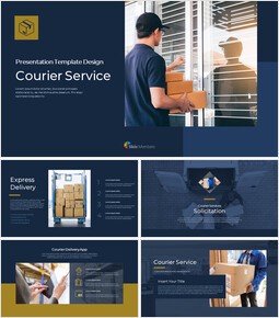 Courier Service Simple Google Presentation_00
