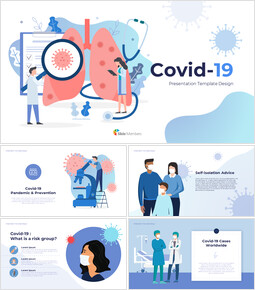 Covid-19 Simple Slides Templates_00