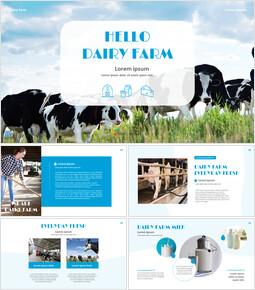 낙농업 Google 슬라이드 프레젠테이션 템플릿_00