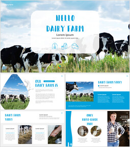 Dairy Farming Simple Templates Design_00