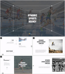 Dynamic Sports Agency Multipurpose Presentation Keynote Template_00