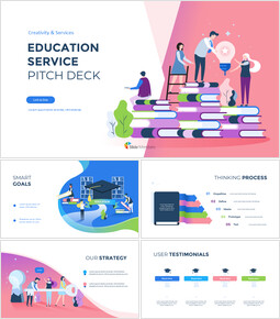 Education Service Pitch Deck Google Slides Themes_00