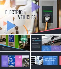 Electric Vehicles Google Slides Template Diagrams Design_00