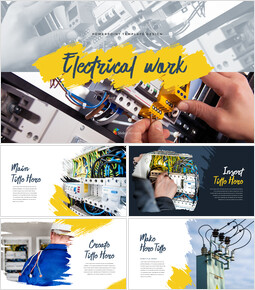 Electrical work Templates PPT_00