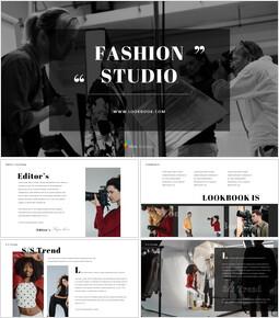 Fashion Studio Presentation PowerPoint Templates Design_00