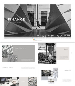 FINANCE Presentation Templates Design_00