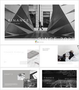 FINANCE Simple Slides Templates_00