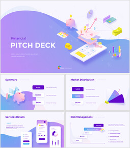 Financial Group Pitch Deck Startup PPT Templates_00