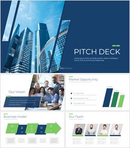 Financial & Industrial Plan Simple Presentation Google Slides Template_00