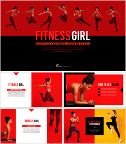 Fitness Girl Business Presentations_00