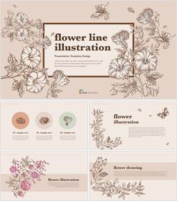 꽃 그림 PPT 키노트_40 slides