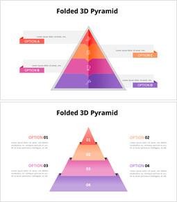 折りたたみ3Dピラミッド図_8 slides
