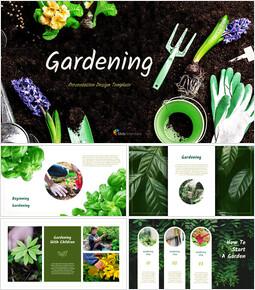 Gardening Simple Google Presentation_00