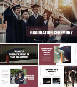 Graduation ceremony Apple Keynote Template_40 slides
