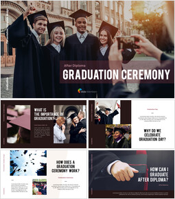 Graduation ceremony Presentation PowerPoint Templates Design_00