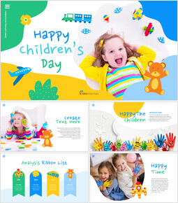 Happy Children\'s Day Easy Slides Design_00